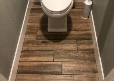 waterproof restroom floor - Fort Collins Flooring - Carpet, hardwood, tile, vinyl, laminate - Northern Colorado Carpets